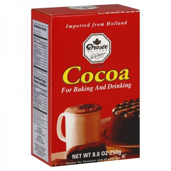 cocoa powder Droste Nutrition info