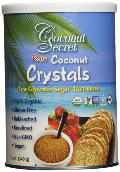 coconut crystals Coconut Secret Nutrition info