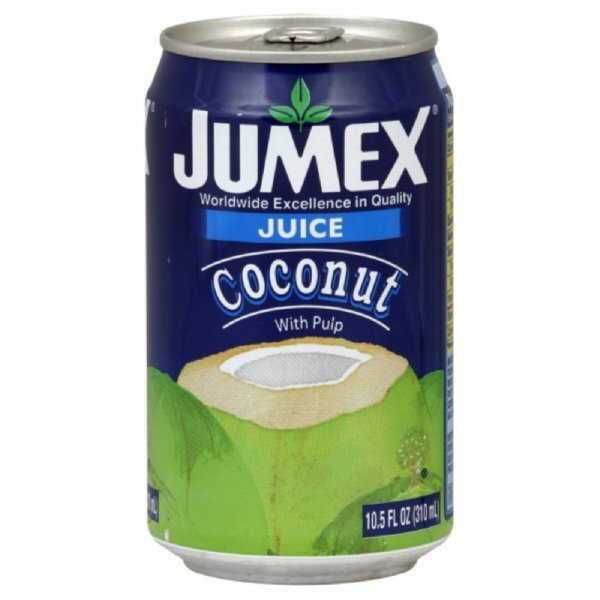 coconut juice with pulp Jumex Nutrition info