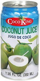 coconut juice with pulp Coco King Nutrition info