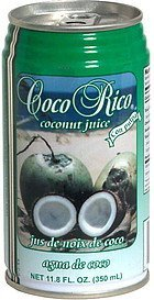 coconut juice Coco Rico Nutrition info