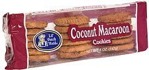 coconut macaroon cookies, pre-priced Lil' Dutch Maid Nutrition info
