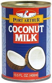 coconut milk Port Arthur Nutrition info