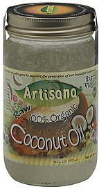 coconut oil extra virgin Artisana Nutrition info