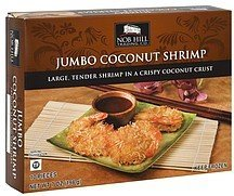 coconut shrimp jumbo Nob Hill Trading Co. Nutrition info