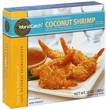 coconut shrimp with tangy citrus sauce WorldCatch Nutrition info