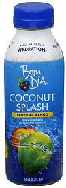 coconut splash tropical mango Bom Dia Nutrition info