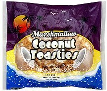 coconut toasties marshmallow Melster Nutrition info