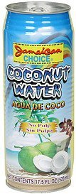 coconut water no pulp Jamaican Choice Nutrition info