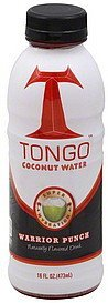 coconut water warrior punch Tongo Nutrition info