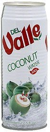 coconut water Del Valle Nutrition info