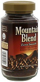 coffee beverage instant, extra smooth Mountain Blend Nutrition info