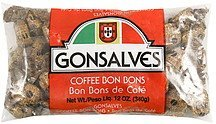 coffee bon bons Gonsalves Nutrition info