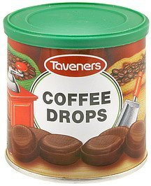 coffee drops Taveners Nutrition info