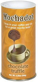 coffee flavoring chocolate truffle Mochadot Nutrition info