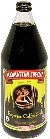 coffee soda espresso Manhattan Special Nutrition info
