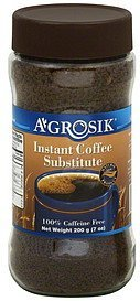 coffee substitute instant A-GROSIK Nutrition info