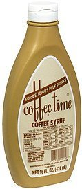 coffee syrup Coffee Time Nutrition info