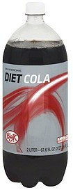 cola diet Big K Nutrition info