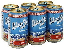 cola Blue Sky Nutrition info