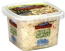 cole slaw Blue Ridge Farms Nutrition info