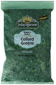 collard greens Todays Harvest Nutrition info