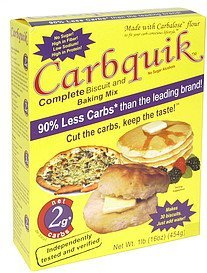 complete biscuit and baking mix Carbquik Nutrition info