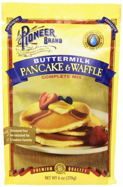 complete buttermilk pancakes mix Pioneer Nutrition info