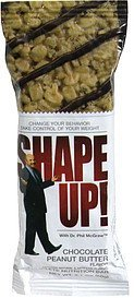 complete nutrition bar chocolate peanut butter Shape Up! Nutrition info