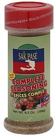 complete seasoning Sak Pase Madame Port-au-prince Nutrition info