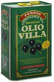 compound oil olio villa Pomace Nutrition info