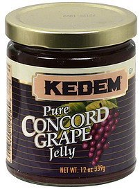 concord grape jelly Kedem Nutrition info