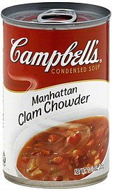condensed soup manhattan clam chowder Campbells Nutrition info