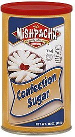 confection sugar Mishpacha Nutrition info