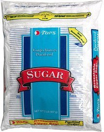 confectioners powdered sugar Hy Tops Nutrition info