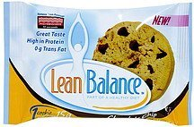 cookie chocolate chip Lean Balance Nutrition info
