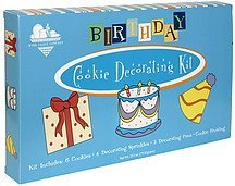 cookie decorating kit birthday Byrd Cookie Company Nutrition info