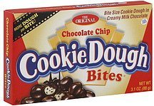 cookie dough bites chocolate chip Taste of Nature Nutrition info