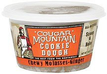 cookie dough chewy molasses-ginger Cougar Mountain Nutrition info