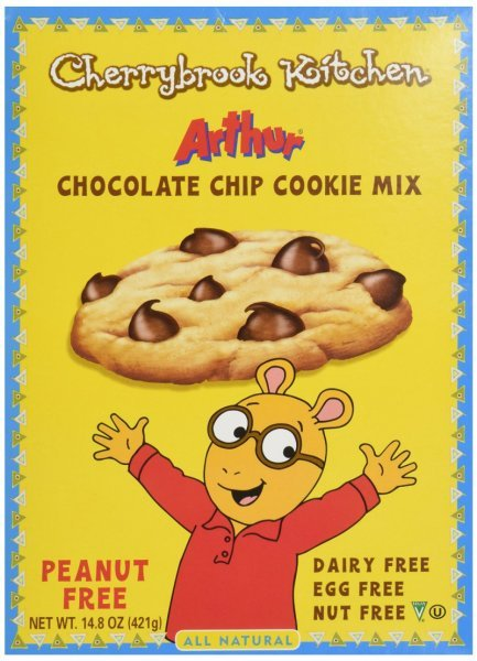 cookie mix chocolate chip Cherrybrook Kitchen Nutrition info