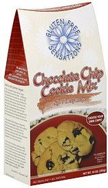 cookie mix chocolate chip Gluten Free Sensations Nutrition info