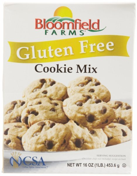 cookie mix gluten free BLOOMFIELD FARMS Nutrition info