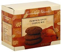 cookie mix pumpkin spice Canterbury Naturals Nutrition info