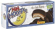 cookie sandwich mini, marshmallow, chocolate flavor MoonPie Nutrition info