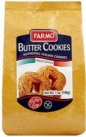 cookies butter Farmo Nutrition info