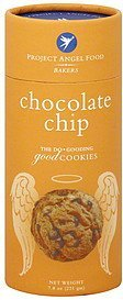 cookies chocolate chip Project Angel Food Bakers Nutrition info