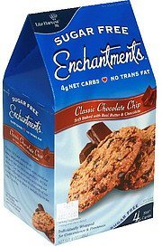 cookies classic chocolate chip Sugar Free Enchantments Nutrition info