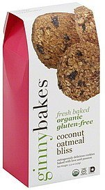 cookies coconut oatmeal bliss ginnybakes Nutrition info