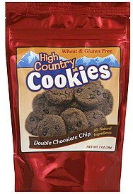 cookies double chocolate chip High Country Nutrition info
