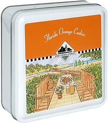 cookies florida orange Byrd Cookie Company Nutrition info